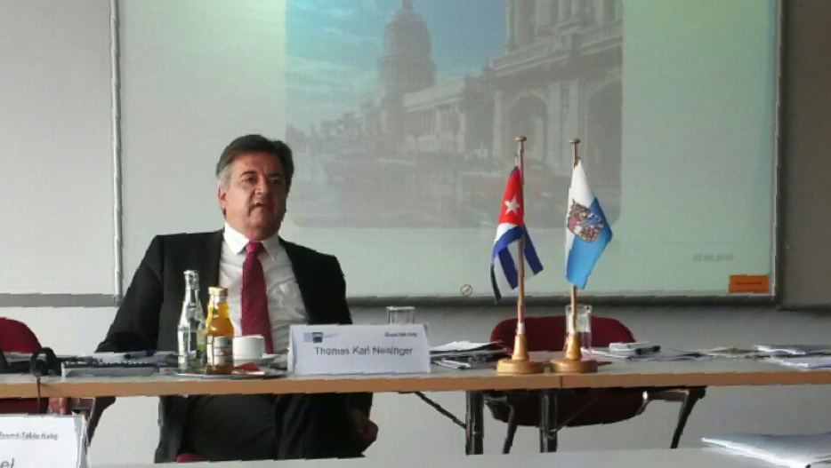 Investitionen in Kuba? Karl Neisinger sieht Chancen für deutsche Unternehmen. Foto: Annika Kapp