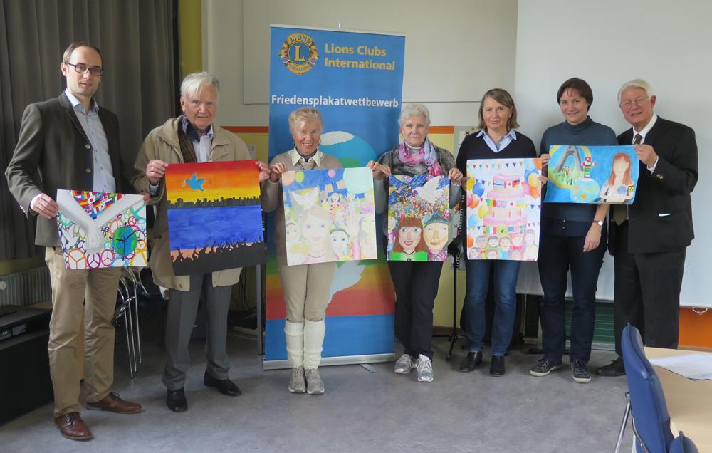 Friedenplakatwettbewerb 2016/2017