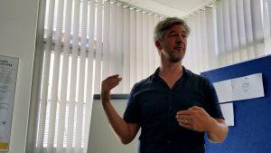 Tobias Greissing - Referent für Visual Thinking. (Foto: Laura Wieler)