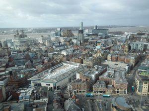 Der Campus befindet sich in Liverpool zentral in der Stadt. Foto: Kevin Kronenwetter
