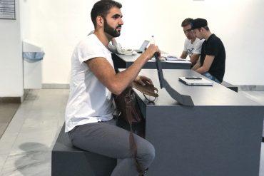 Canel Uc macht in Würzburg bereits seinen zweiten Bachelor. Foto: My Hanh Huynh