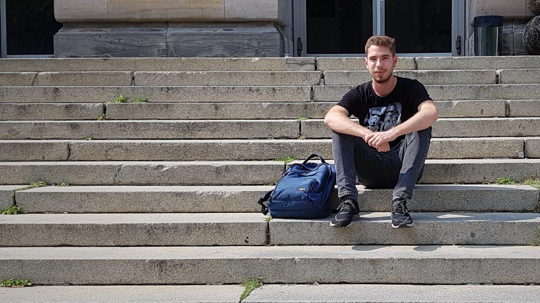 Ein Semester lang hat Nicolas in Coimbra (Portugal) studiert. Foto: Robert Müller
