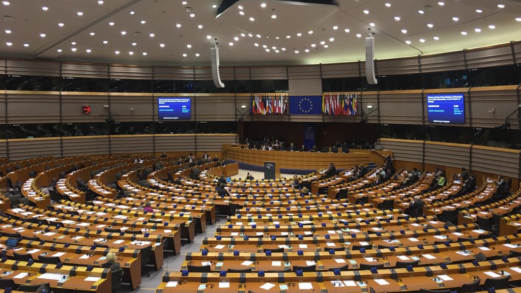 Das EU-Parlament in Brüssel